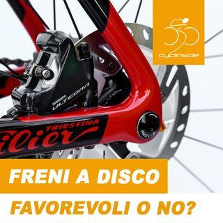 Freni a disco sì o no sulla bicicletta da corsa?