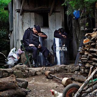 Policía de Guerrero en paro