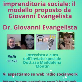 Assistenti sociali e imprenditoria sociale: il modello proposto da Giovanni Evangelista