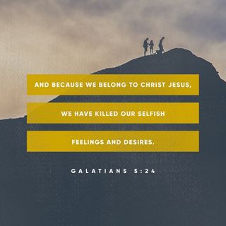 Episode 18: Galatians 5:24 (January 18, 2018)