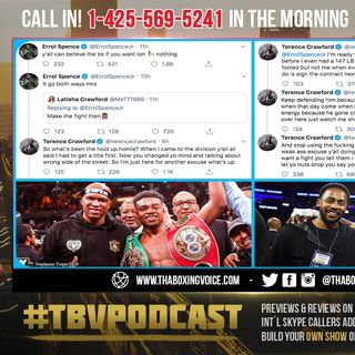 ☎️Terence Crawford vs Errol Spence Jr.,🔥 Crawford Setting Record Straight❗️ Who's Ducking Who❓