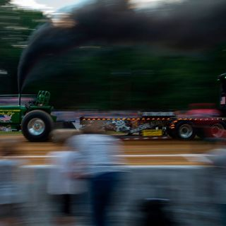Pullin' for You tractor pull event at the Mississippi Valley Fairgrounds