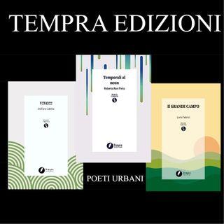 """Tre poesie dalla collana """"Poeti urbani"""" di Tempra edizioni"""