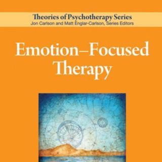 A discussion on emotional focused therapy