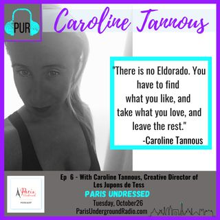 With Caroline Tannous, creative director of Les Jupons de Tess