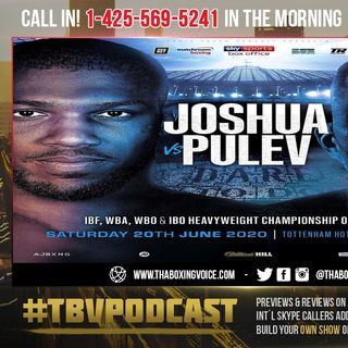 ☎️Arum: Take it To The Bank🏦No Joshua After June 20❗️Talking Now is Ludicrous🤣Only if They Win❗️