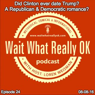 Did Clinton ever date Trump? A Republican and Democrat romance?