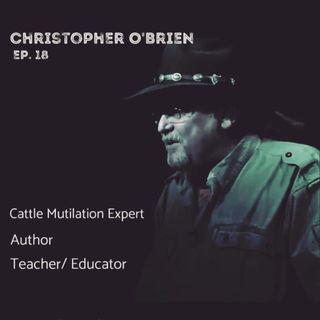 ep18  Christopher O'Brien   CM Researcher/ Expert/ Author