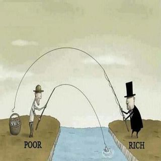 The Poor, The Middle Class & The Rich!