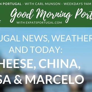 Portuguese politics: Cheese, China, USA & Marcelo