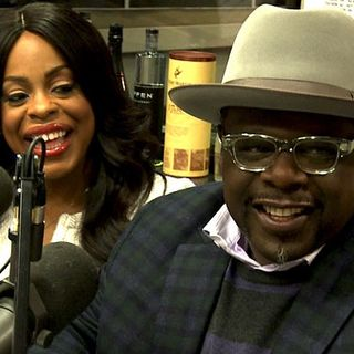 Cedric The Entertainer and Nicey Nash In