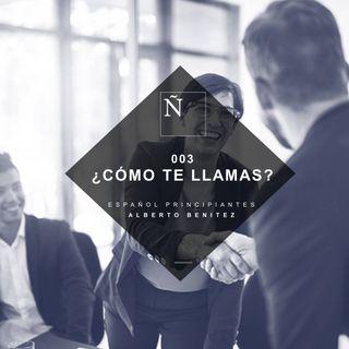 003 ¿Cómo te llamas? - Español Principiantes