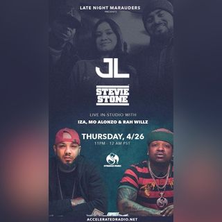 Late Night Marauders 4/27/18 Kontra-Band @steviestone @jlbhood