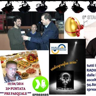 Radiografia Scio' - N.25 del 19-04-2014