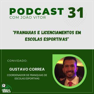 Ep. 31: Franquias e Licenciamentos em Escolas Esportivas | Gustavo Côrrea