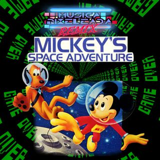 Mickey´s Space Adventure (DOS - Apple II - C64)