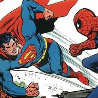 Superman VS Spiderman - 7:13:19, 6.22 PM