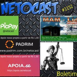 NETOCAST 1152 DE 20/05/2019 - BOLETIM DE DIREITO