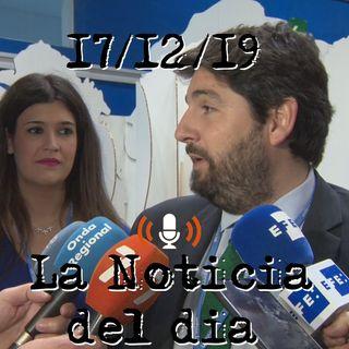 El presidente de Murcia pide que el Mar Menor sea un asunto de estado