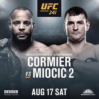 UFC 241: Cormier vs. Miocic 2 Commentary