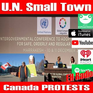 Morning moment Say NO to the UN Say NO to TRUDEAU December 12 2018