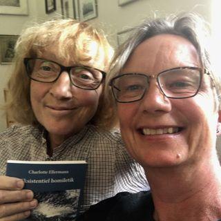 9. søndag efter trinitatis. Charlotte Ellermann i samtale med Laura Lundager Jensen