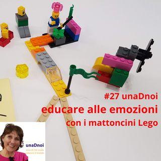 #27_EDUCARE alle EMOZIONI con i mattoncini Lego. Intervista a Daniela Chiru