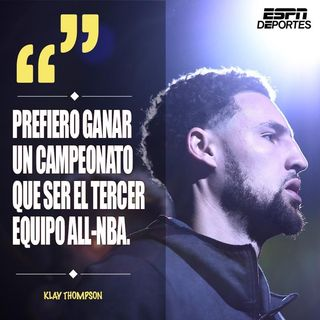"Episodio 3 - MR. ANSWER PR DEPORTES 'Injusto o justo"" lo de Klay Thompson?"