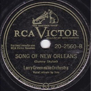 Monday C/W Larry Green with Orchestra, Pee Wee King with Golden West Cowboys 