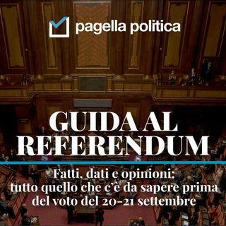 SPECIALE: Guida al referendum sul taglio dei parlamentari