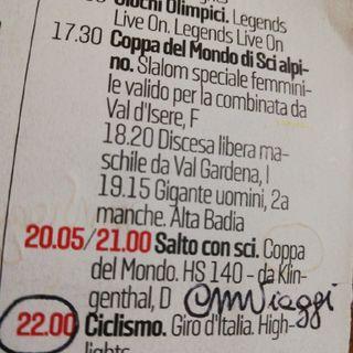 Il Giro d'Italia #Tv - Giro 2020 #Agrigento #Sicilia #Lombardia #CMViaggi #CMTempoLibero