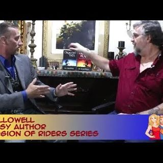There Be Dragons Here with Fantasy Author JD Hallowell:an interview on the Hangin With Web Show