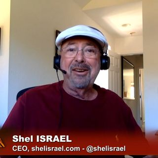 Triangulation 415: Shel Israel: Human-Augmented AI
