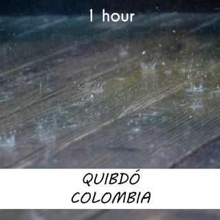 Quibdó, Colombia | 1 hour RAIN Sound Podcast | White Noise | ASMR sounds for deep Sleep | Relax | Meditation | Colicky