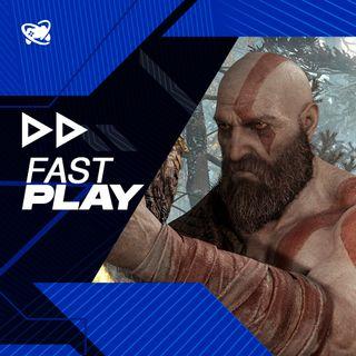 Fast Play (06/09): novo God of War pode ter 40 horas de gameplay e sugestões de grandes jogos em promoção