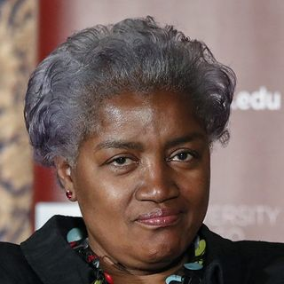 TYPICAL @donnabrazile : ANGRY, LOUD MOUTH & MELANATED!!