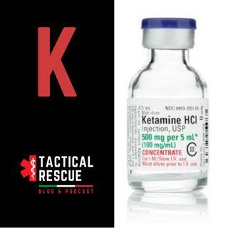 "Ketamina, analgesico per ""operazioni speciali""."