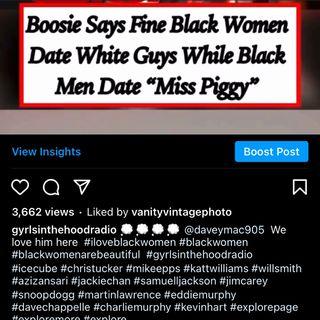 WHY Do black men date white women who look like Miss Piggy 🐷 🤮