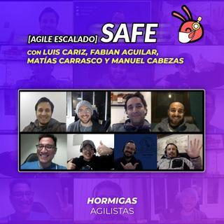 EP31 - Agile Escalado - SAFe con Luis Cariz, Fabian Aguilar, Matías Carrasco y ManuelCabezas