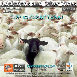Addictions and Other Vices 548  - Bombshell Radio Top 10 Countdown November