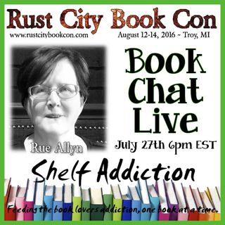 Ep 16: Author Interview with Rue Allyn | Book Chat LIVE