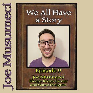 Episode 9 - Joe Musumeci, Escape Room Owner and Game Designer