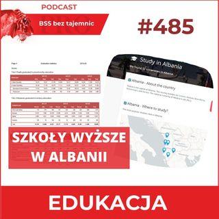 #485 Szkoły wyższe w Albanii i ich potencjał dla sektora BPO