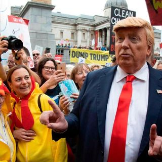 """Trump Tweeted """"I kept hearing that there would be """"massive"""" rallies against me in the UK, but it was quite the opposite."""" What Do You Think?"""