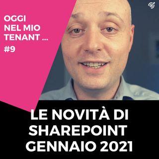 Le novità di SharePoint di gennaio 2021