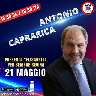 """Antonio Caprarica presenta """"Elisabetta. Regina per sempre"""""""