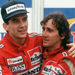 Senna y Prost hoy en el 17 de Motor Radio