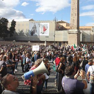 Manifestazione Roma 09/10/2021 - Chat vocale parte 1