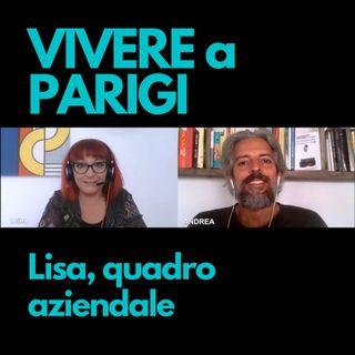 Lisa, quadro aziendale a Parigi