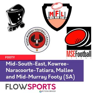SA Footy previews: 3:11 Ben Hooper on Mallee 14:26 Jarred Dawson on Mid SouthEast 25:22 Sammy Graetz on KNT 42:05 Bruce on River Murray